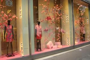 witryna sklepu w Paryżu