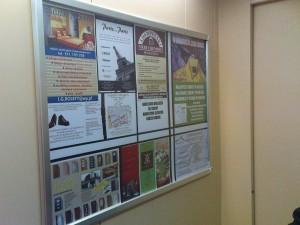 Reklama w windzie