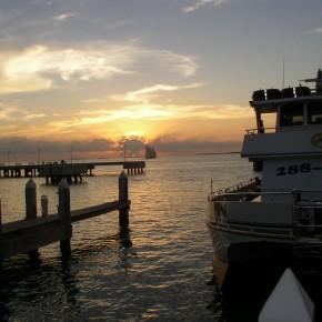 Zachód słońca, Key West