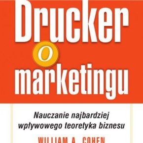 Drucker o marketingu okładka