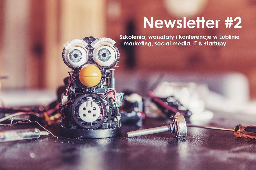Szkolenia i wydarzenia w Lublinie – marketing, zarządzanie, IT. Newsletter #2