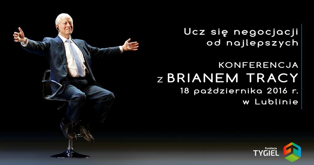 Brian Tracy w Lublinie