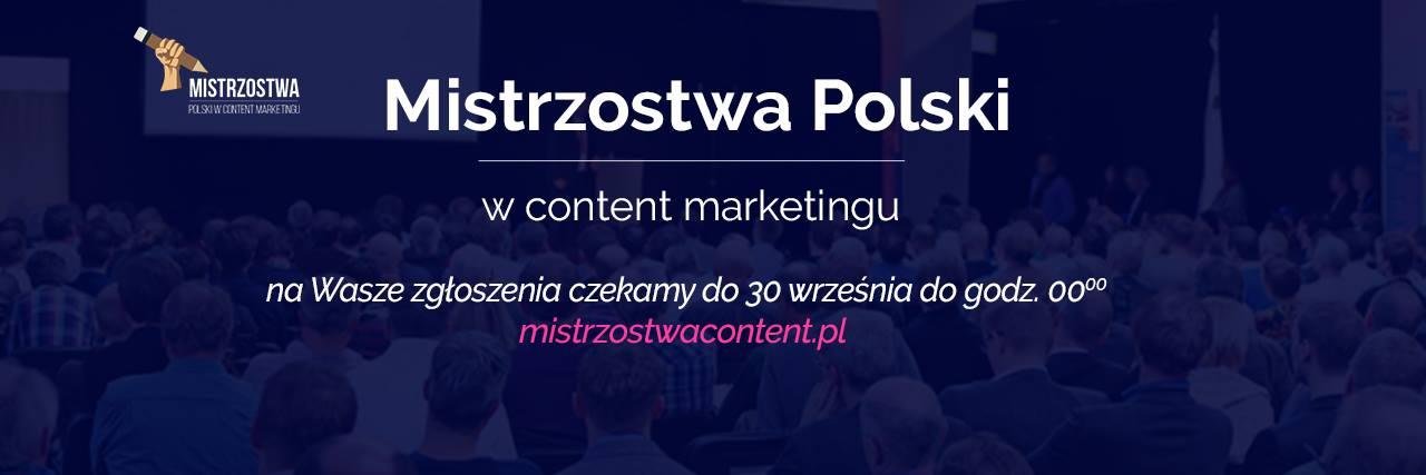 Mistrzostwa Content Marketingu