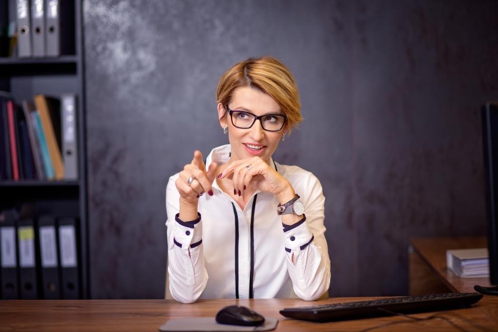Tatiana Mindewicz-Puacz na konferencji z Brianem Tracy w Lublinie