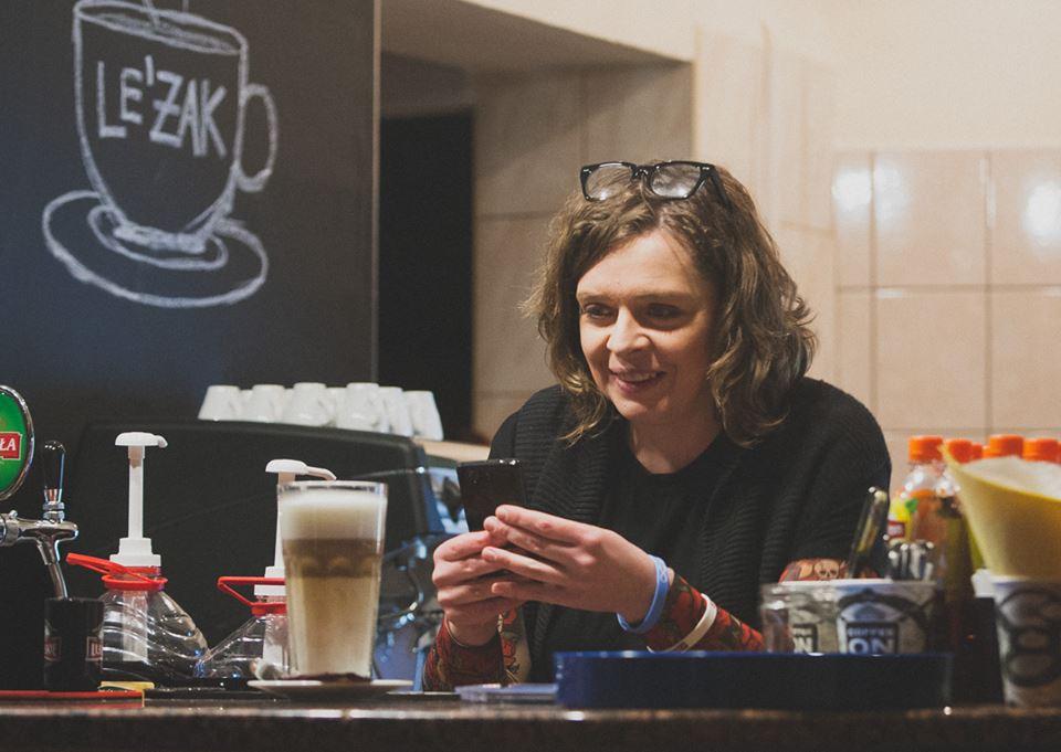 Wywiad z Justyną Domaszewicz, managerem kawiarni Le'Żak