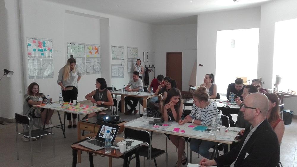 Creative Lab czyli projektowanie modeli biznesowych i propozycji wartości w Lublinie